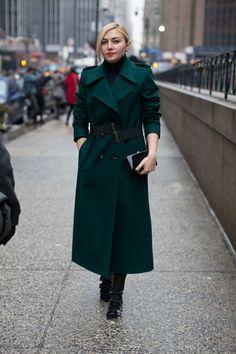 Street Style Fall 2013: New York Fashion Week-- Naseeba!!!! Brilliant and stylish!!!!