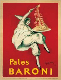 Pates Baroni by Leonetto Cappiello (1921)