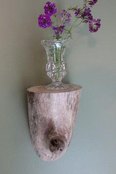 Driftwood estante estante de madera de deriva estante por JITTT