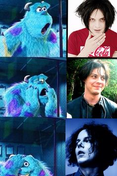My reaction when I look at pictures of jack white! Who ever made this is my favorite person!