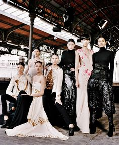 Givenchy Haute Couture Winter 2010, photo by Mary Rozzi