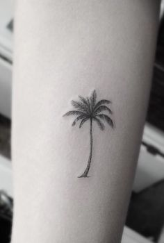 i love the realistic, simple look of the palm tree