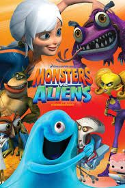 Image result for monsters vs aliens Monsters Vs Aliens, Dreamworks Animation, Top Movies, Feature Film, Minions, Adventure, Fictional Characters, Image, Art