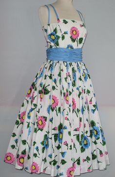 Beautiful Horrockses sun dress originally purchased from Cresta