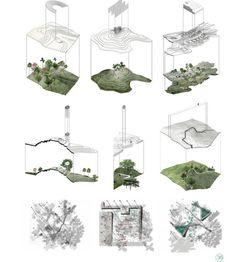 Site Analysis Architecture, Architecture Mapping, Architecture Concept Diagram, Architecture Board, Architecture Drawings, Landscape Diagram, Landscape And Urbanism, Fantasy Landscape, Landscape Design