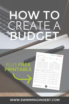 Take control of your money! Learn how to create a budget. Making A Budget, Create A Budget, Ways To Save Money, Money Saving Tips, Money Tips, Saving Ideas, Tracking Expenses, Budget Template, Budgeting Money