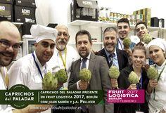 ¿ sabías qué el equipo comercial se ha desplazado a Berlín para presentar nuestros vegetales gourment en la feria FRUIT LOGÍSTICA 2017?