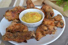 Alette di pollo al forno