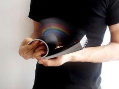 RAINBOW IN UR HANDS #Creative #flip book #Rainbow