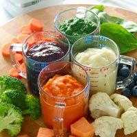 Sneaky Chef Make-Ahead Puree Recipes: Purple Puree and Orange Puree