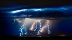 Storm over Salt Lake, Utah