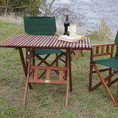 Found it at Wayfair - Campaign Picnic Table