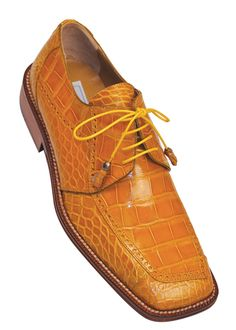 Ferrini Men's Alligator Dress Shoes now available at Tim's Boots. Call 1-800-771-4214 to arrive in style!