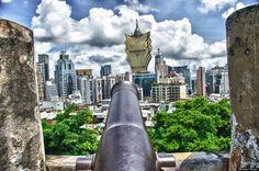 Fortress in Macau
