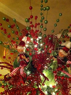 Typical Christmas tree toppers have included stars, angels, bows, and lots of other things….but take a look at how Kristina Gardea has topped some of her client's trees. She has used everything from sock monkeys, snowmen and cupcake sticks. Browse through some of the photos showcasing her stunning decorating style and get inspired!  The …