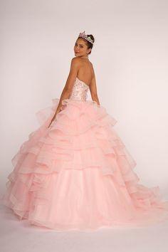7f08de17fae Beautiful Quince Dress  GLS2515 Quinceanera Court