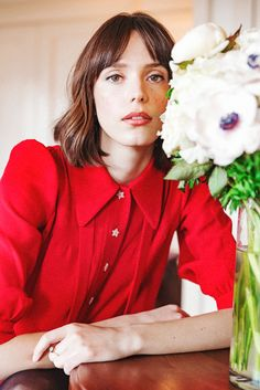 1aefe0dce35 Nymphomaniac s Stacy Martin On How She Gets Glowing Skin
