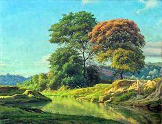 As Cores Da Arte: cenas rurais