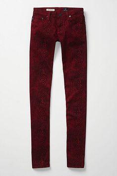 snakeskin leggings.