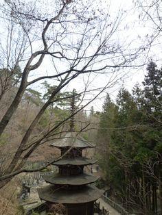 """""""Anrakuji""""(Tempio), Bessyo-Onsen, Ueda Nagano Japan"""