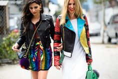 The 50 Most Over-the-Top Street Style Looks of 2015 - -Wmag