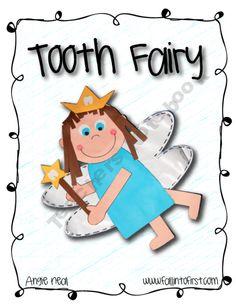 Fall-into-First Shop -   Teachers Notebook Tooth Fairy Art /Writing activity