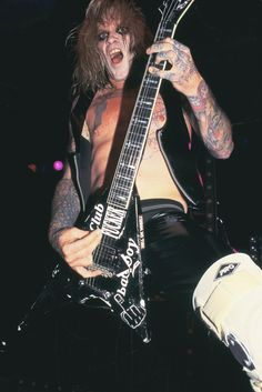 Chris Holmes from W.A.S.P. Irving Plaza, NYC 1998