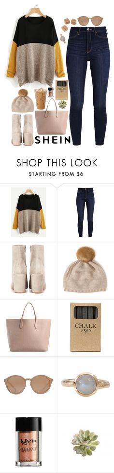 """""""denise"""" by soft-orchid ❤ liked on Polyvore featuring Hollister Co., Gianvito Rossi, Henri Bendel, Rochas, Jayson Home, Linda Farrow, Tamara Comolli and NYX"""