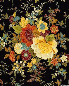 Kyoto Blossoms - Blossom Glory - Quilt Fabrics from www.eQuilter.com
