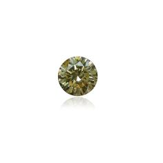 This 0.34ct green-yellow diamond in our stock is one of the best yet. N Fancy intensity with GIA certificate. The clean finish of this stone makes it so adorable.