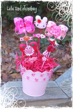 BABY TIME Guest Post--Hair Bow Bouquets & a GIVEAWAY! - My Insanity