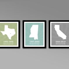 2014 multiple states residence wall art series personalized printable map art all 50 states for m-f81659.jpg (800×800)