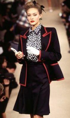 Haute couture été 1996. Getty Images.