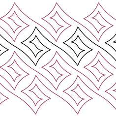 Square Spiral - Digital - Quilts Complete - Continuous Line Quilting Patterns