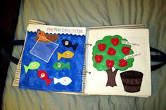 Making Messes: One project {or more} at a time: Quiet Book-- Finished Product!