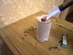 очистка серебра от примесей - YouTube