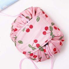 Drawstring Cosmetic Makeup Bag