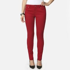 daisy fuentes Color Skinny Jeans - Petite, Just bought these.. love it!