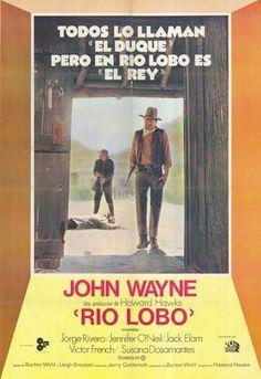 Rio Lobo (Foreign) 11x17 Movie Poster (1971)