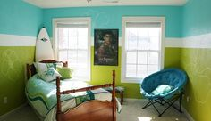 aqua and lime green bedrooms - Google Search