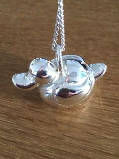 """A solid sterling silver """"duckling"""" :)"""