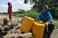 Girl waiting to draw water, Telasa, Ethiopia | Flickr - Photo Sharing!