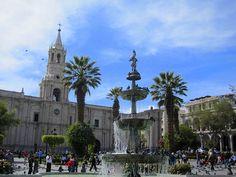 Arequipa, Peru- the white city.