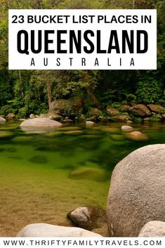 Planning your Queensland holidays but not sure where to go? This guide covers 23 of the best places to visit in Queensland from the Gold Coast to the far north. Brisbane, Melbourne, Sydney, Perth, Australia Travel Guide, Visit Australia, Queensland Australia, Australia Honeymoon, Travel With Kids
