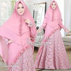 60 ideas doll baby dress for 2019 Dress Brokat Muslim, Muslim Dress, Hijab Dress, Simple Long Dress, Simple Dresses, Abaya Fashion, Muslim Fashion, Dress Fashion, Dress Muslim Modern