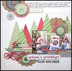 Biz DOD 05 DT sample by Agnus Kasprzak Christmas Scrapbook Layouts, Love Scrapbook, Scrapbook Layout Sketches, Scrapbook Designs, Scrapbook Paper Crafts, Scrapbook Albums, Scrapbooking Layouts, Scrapbook Cards, Christmas Layout