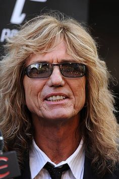 David Coverdale Photos - Musician David Coverdale arrives at the Annual Revolver Golden God Awards at the Club Nokia on April 2011 in Los Angeles, California. David Coverdale, Jimmy Page, Revolver, Deep Purple, Hard Rock, Rock Bands, Awards, Singer, God