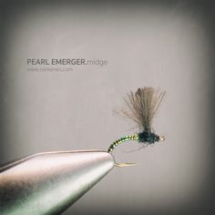 The Pearl Emerger hangs in the CdC just under the surface