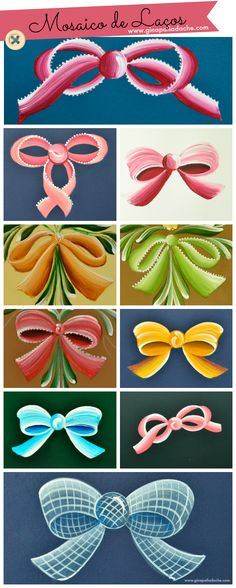 Decorative painting - bows
