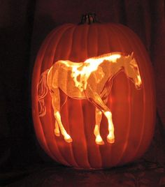Get a little fancy with your Halloween pumpkin carving this year!